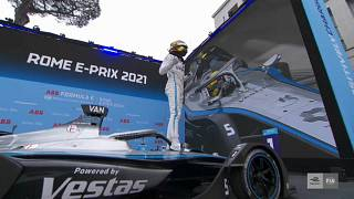 Vandoorne bounces back from disappointment to take Formula E Round 4 in Rome
