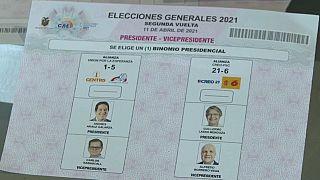Candidatos a la presidencia de Ecuador