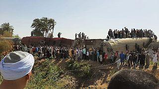 Mısır'ın Suhac kentinde 26 Mart'ta meydana gelen tren kazasında 20 kişi hayatını kaybetmişti