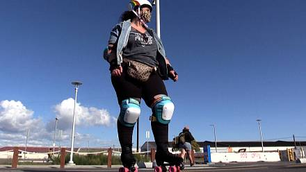 'Chub Rollz' skaters club defies body image stereotypes