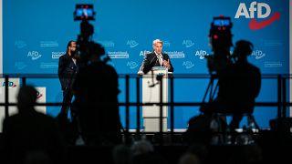 Björn Höcke auf dem Bundestparteitag der AfD in Dresden