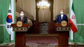 نخست وزیر کره جنوبی در تهران