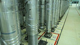 دستگاههای سانتریفیوژ در تأسیسات هسته ای نطنز