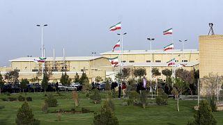 منشأة تخصيب اليورانيوم النووية الإيرانية في نطنز على بعد 300 كيلومتر، جنوب العاصمة طهران.