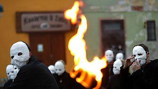 Húsvéti felvonulás Ceske Budéjovicében