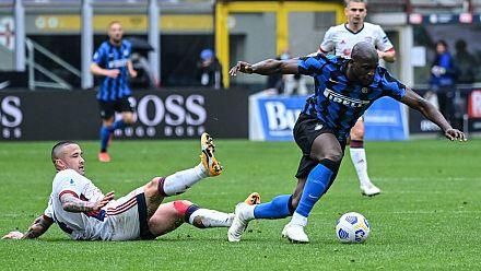 L'Inter Milan avec 11 points d'avance, Lukaku décisif
