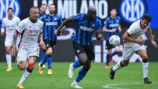Football: Lukaku inspires Inter Milan to title Serie A win