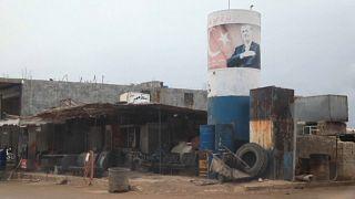 Afrin'de Suriyeli muhaliflerin askeri kampı