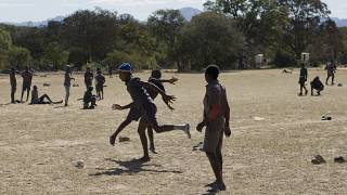 "Footballers in Zimbabwe play in ""money matches"" to support families"