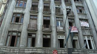 Residents of Bucharest's crumbling buildings live in fear of earthquake threat