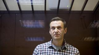 Navalny in court on February 20 this year