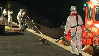 Four migrants were found dead in a boat off the Canary Islands