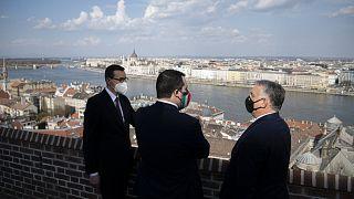 Morawiecki, Salvini és Orbán Budapesten: szép kilátások