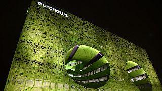 مقر قناة يورونيوز في مدينة ليون الفرنسية