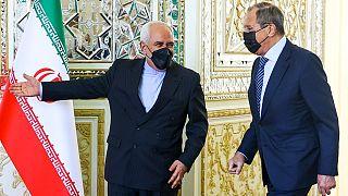 دیدار جواد ظریف و سرگی لاوروف در تهران