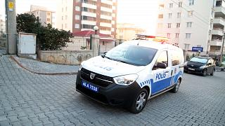 Kahramanmaraş'ta polis aracı