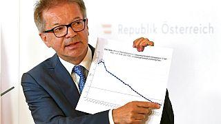 Gesundheitsminister Rudolf Anschober auf einer Pressekonferenz in Wien