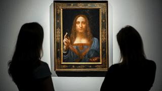 "Il ""Salvator Mundi"" al museo di Abu Dhabi."
