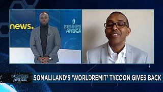 Somaliland's ''WorldRemit'' tycoon gives back [Business Africa]