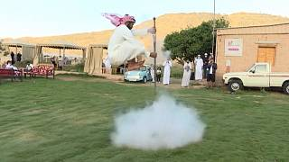 Il Taachir, la danza di guerra araba, tradizione da tramandare