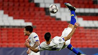 Golo do FC Porto nos quartos de final da Liga dos Campeões