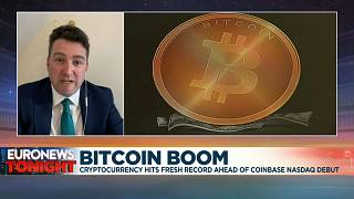 Euronews business analyst Guy Shone deciphers the cryptocurrency's boom