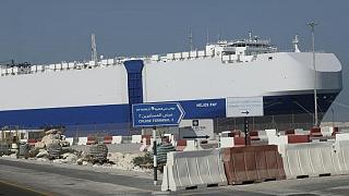 یک کشتی اسرائیلی که در ماه فوریه هدف حمله قرار گرفت