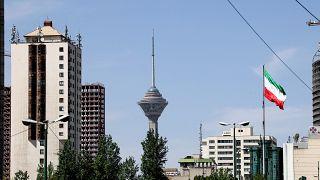 A view of Iran's capital Tehran