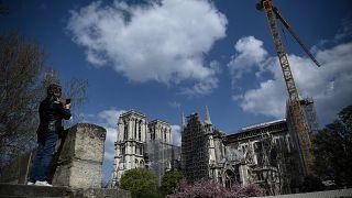 Bis 2024 nicht fertig: Das tut sich auf der Baustelle von Notre-Dame