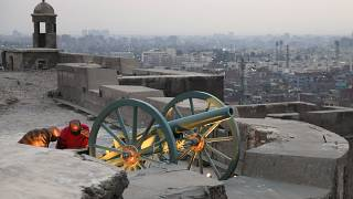 Egypt's centuries old 'Ramadan Cannon' fired after 30 years of silence