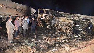 Egypte :  au moins 20 personnes tuées dans un accident