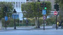 Tunisia: Empty streets in Tunis as Ramadan begins