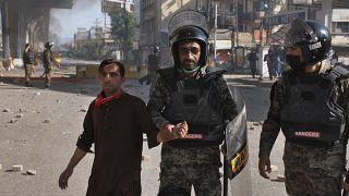 اعتراض ها در شهر راولپندی پاکستان