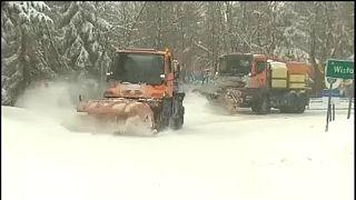 Havazás a lengyel Beszkidekben
