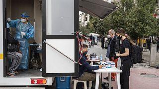 Rapid test στην Αθήνα
