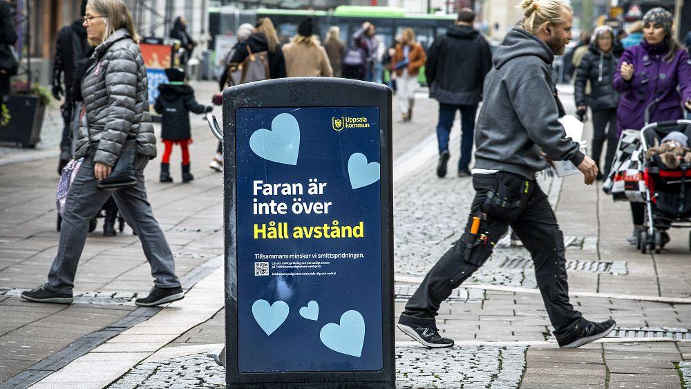 Η περιοχή της Σουηδίας δηλώνει «προσωπικό κλείδωμα» καθώς η χώρα βλέπει τις καθημερινές περιπτώσεις COVID να ανεβαίνουν