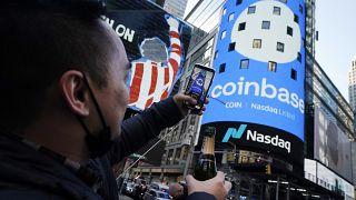 Bevezették a Coinbase részvényét a Nasdaq-on