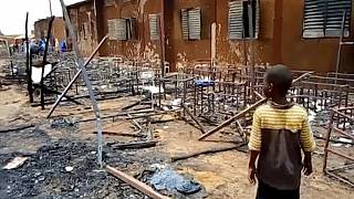 Niger mourns 20 children killed in school blaze