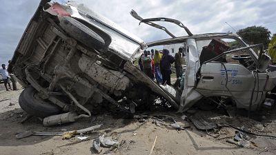 Somalie : 15 passagers d'un minibus victimes d'une l'explosion