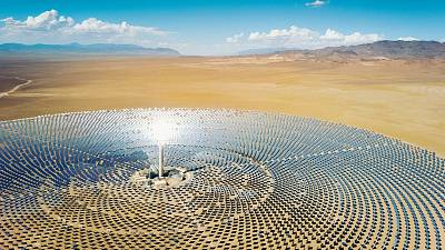 The Nevada desert is home to some of the world's most expansive solar projects