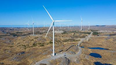Facebook sources power from the Bjerkreim wind farm in Norway