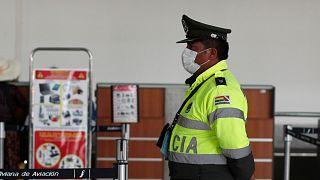 پلیس بولیوی؛ عکس تزئینی است