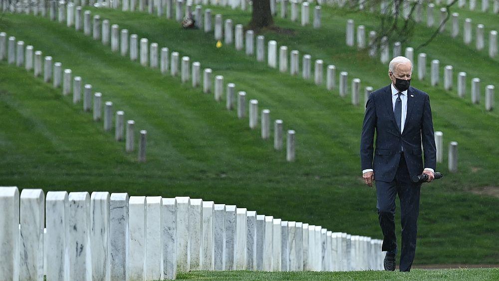 """بايدن يعلن أن """"الوقت حان لإنهاء أطول حرب لأميركا"""" في أفغانستان - Euronews"""