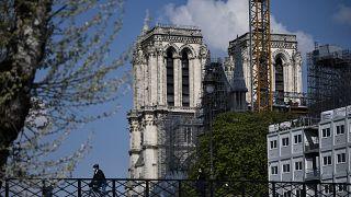 Come procedono i lavori a Notre Dame, a 2 anni dalle fiamme | fotogallery