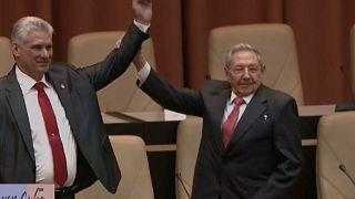 Miguel Diaz-Canel übernahm bereits die Präsidentschaft Kubas von Raúl Castro - und wird jetzt wohl auch neuer Parteivorsitzender