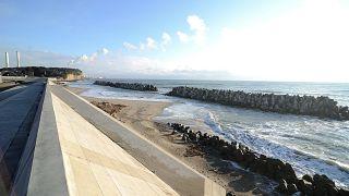 Japonya'nın Fukuşima eyaletindeki nükleer santral
