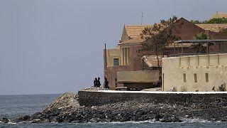 Afrika ülkelerinden Senegal'in Goree Adası'nda bir köle evi. Birçok Afrikalı'nın geçmiş dönemde buradan zorla Atlantik'e götürüldüğü biliniyor