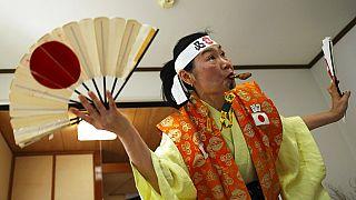 japán szurkoló