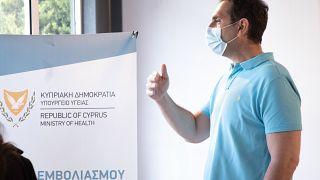 Ο Υπουργός Υγείας της Κύπρου, Κωνσταντίνος Ιωάννου