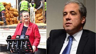 AK Parti eski milletvekili Şamil Tayyar patates soğan dağıtımının şova dönüştürüldüğünü söyleyerek olaya tepki gösterdi.